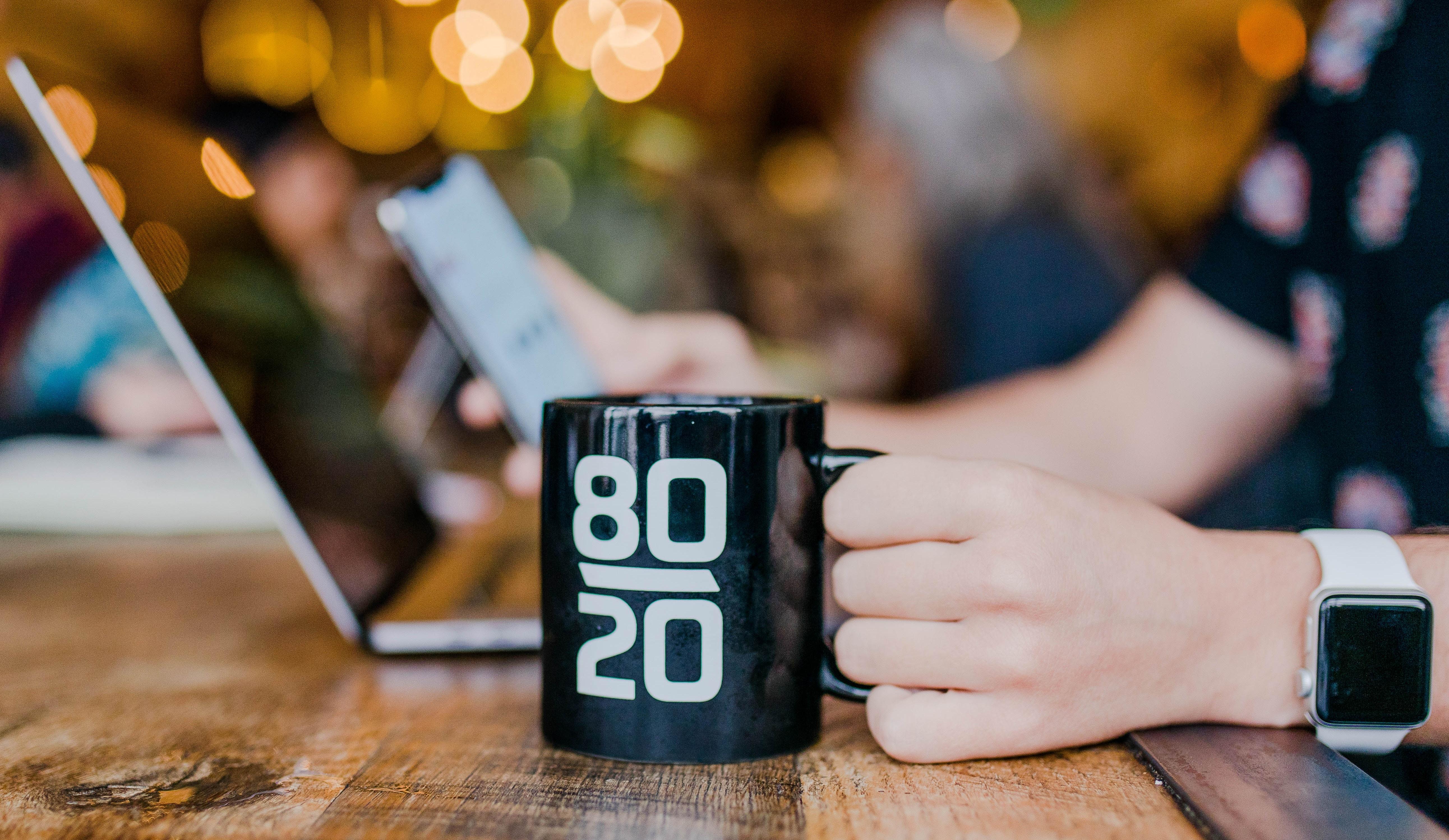 Pareto 80/20 mug
